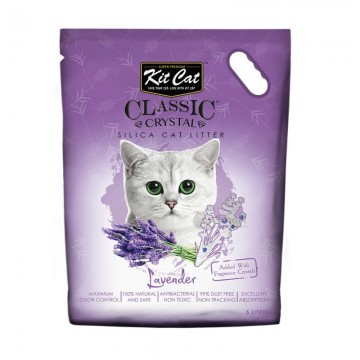 Kit Cat Classic Crystal Lavender 5L (4 Packs)