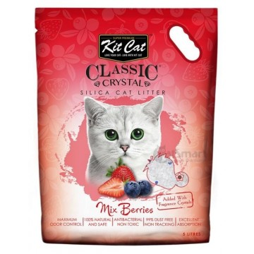 Kit Cat Classic Crystal Mixed Berries 5L