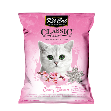 Kit Cat Classic Clump Cherry Blossom 10L