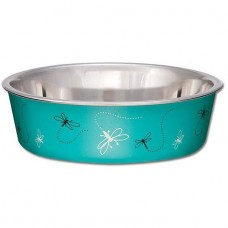 Loving Pets Bella Bowl Dragonfly Turquoise (S)