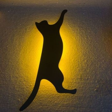 Lumewnous LED Cat Climbing Shape Induction Night Light