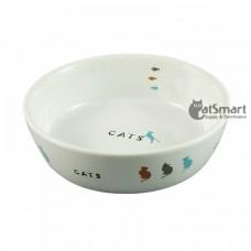 Marukan Ceramic Cat Dish
