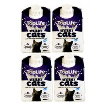 TopLife Cats Milk 200ml (4 Packs)