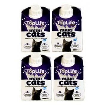 TopLife Cats Milk 200ml (4 Packs)