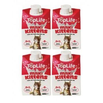 TopLife Kittens Milk 200ml (4 Packs)
