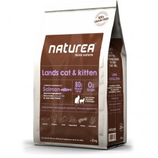 Naturea Grain Free Salmon, Chicken and Herring for Cats and Kittens 2kg