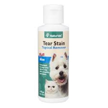 NaturVet Tear Stain Topical Remover 118ml