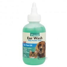 NaturVet Ear Wash Plus Tea Tree Oil 118ml