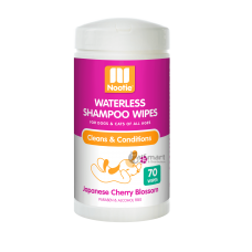 Nootie Waterless Shampoo Wipes Japanese Cherry Blossom 70s