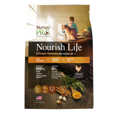 Nurture Pro Nourish Life Chicken Formula for Mature Cat 7+ 1.8kg
