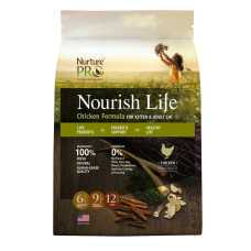 Nurture Pro Nourish Life Chicken Formula Kitten & Adult 1.8kg