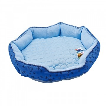 Gonta Club Bear Cooling Bed M Navy Blue