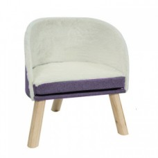 Lavish Classic Lounge Chair Purple