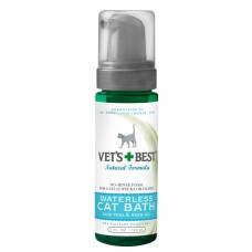 Vet's Best Waterless Cat Bath Aloe Vera & Neem Oil 4oz