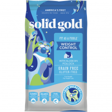 Solid Gold Weight Control Fit As A Fiddle Fresh Caught Alaskan Pollock 6lb