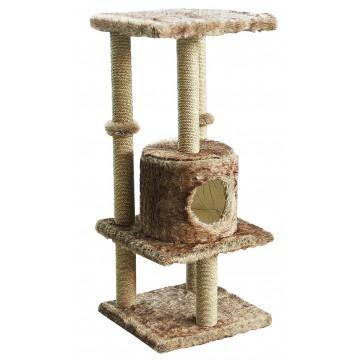 Pawise Cat Post Kitty Hide N Seek