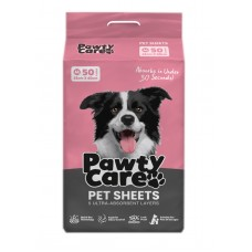 Pawty Care Pet Sheets Medium 50pcs (45cm X 60cm)