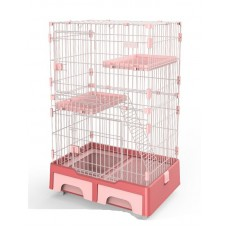 Deluxe Pet Cage Pink