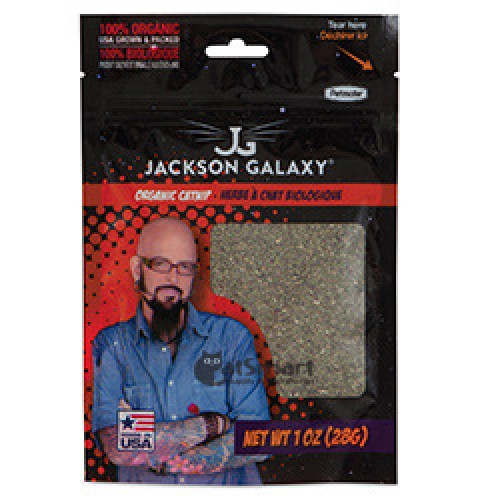 Petmate jackson galaxy organic catnip 14g for Jackson galaxy cat products