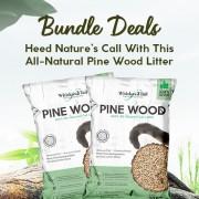 Whiskers2tail Pine Cat Litter Bundle Deals