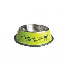 Plouffe Anti-slip Wide Bowl Large Green