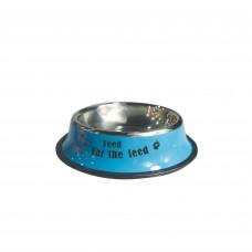 Plouffe Anti-slip Wide Bowl Medium Blue