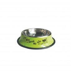 Plouffe Anti-slip Wide Bowl Medium Green