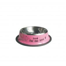 Plouffe Anti-slip Wide Bowl Medium Pink