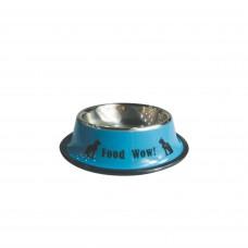 Plouffe Anti-slip Wide Bowl Small Blue