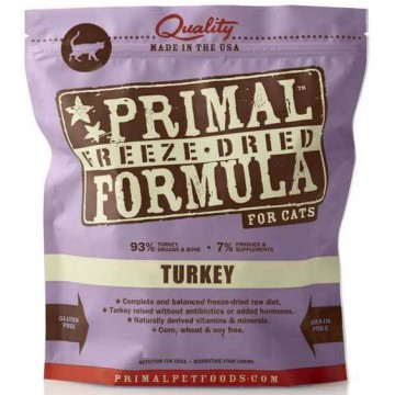 Primal Freeze Dried Turkey 397g (2 Packs)