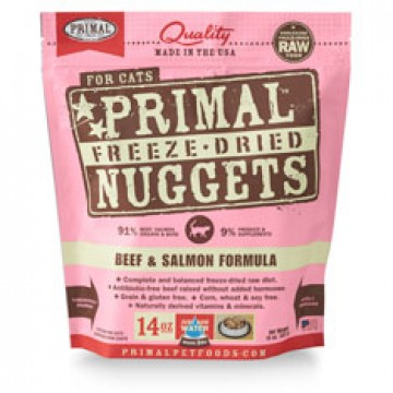 Primal Freeze Dried Beef & Salmon 397g (2 Packs)