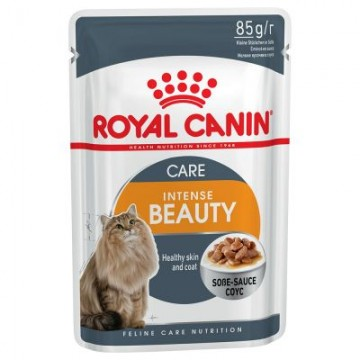 Royal Canin Pouch Intense Beauty 85g Pack (12 Pouches)