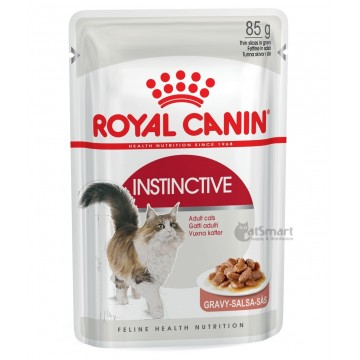 Royal Canin Pouch Gravy Instinctive 85g Pack(12 Pouches)