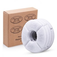Rubeku Round Replacement Carbon Filters 4pcs