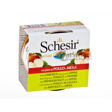 Schesir Fruits Chicken & Apple 75g