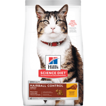 Science Diet Adult Hairball Control with Chicken Recipe 3.17kg
