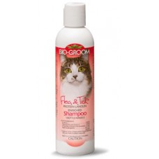 Bio-Groom Cat Flea & Tick Protein-Lanolin Enriched Shampoo