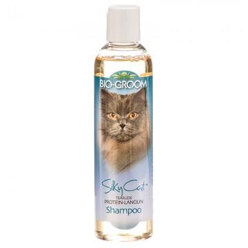 Bio-Groom Silky Cat Tearless Protein-Lanolin Shampoo 8oz
