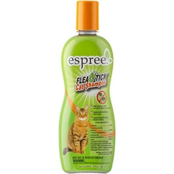 Espree Flea & Tick Cat Shampoo 355ml