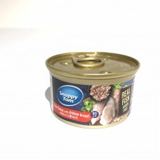 Snappy Tom Grain Free Tuna Flakes with Chicken Breast  85g