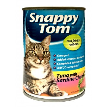 Snappy Tom Tuna with Sardine Chunk 400g