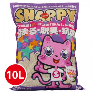 Snappy Cat Sand Litter Rose 10L (5 Packs)
