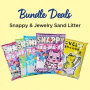 Snappy Cat Sand & Jewelry Cat Sand Litter Bundle Deals