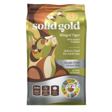 Solid Gold Winged Tiger With Quail & Pumpkin 3lb
