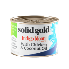 Solid Gold Indigo Moon Pate With Chicken & Coconut Oil 170g