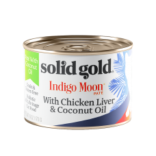 Solid Gold Indigo Moon Pate With Chicken Liver & Coconut Oil 170g