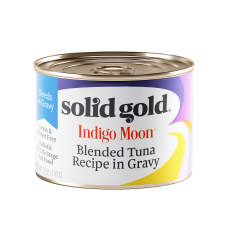 Solid Gold Indigo Moon Blended Tuna Recipe in Gravy 170g (3 Cans)