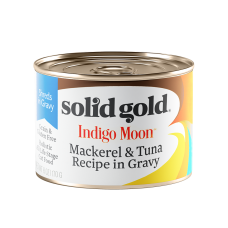 Solid Gold Indigo Moon Mackerel & Tuna Recipe in Gravy 170g