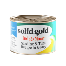 Solid Gold Indigo Moon Sardine & Tuna Recipe in Gravy 170g