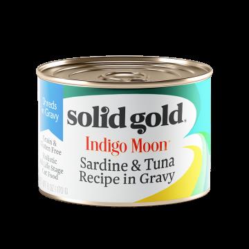 Solid Gold Indigo Moon Sardine & Tuna Recipe in Gravy 170g
